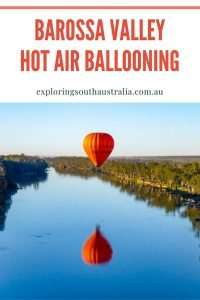 Barossa Hot Air Ballooning Pin Image