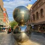 The Mall's Balls in Rundle Mall, Adelaide