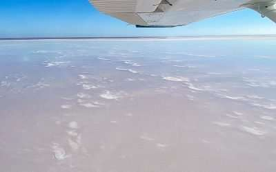 Flight Over Lake Eyre from William Creek